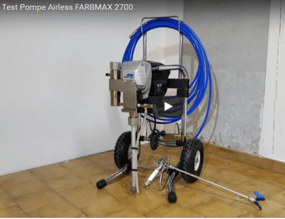 test pompe airless farbmax