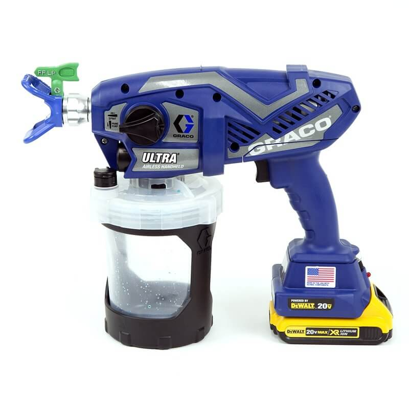 Graco Ultra Airless Handheld DC sur batterie