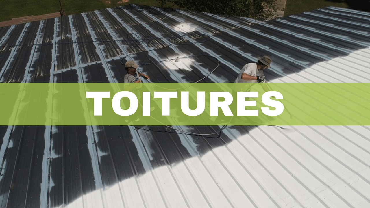 pompes airless toiture