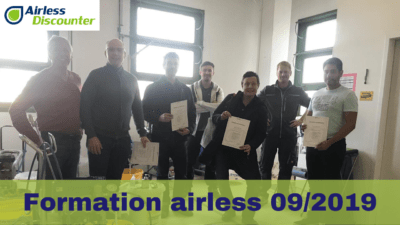 Formation airless France 09.2019
