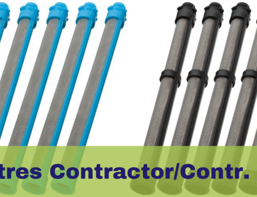Filtres des pistolets airless Graco Contractor & Contractor PC