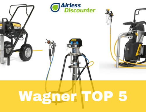 Notre top 5 des pompes airless Wagner