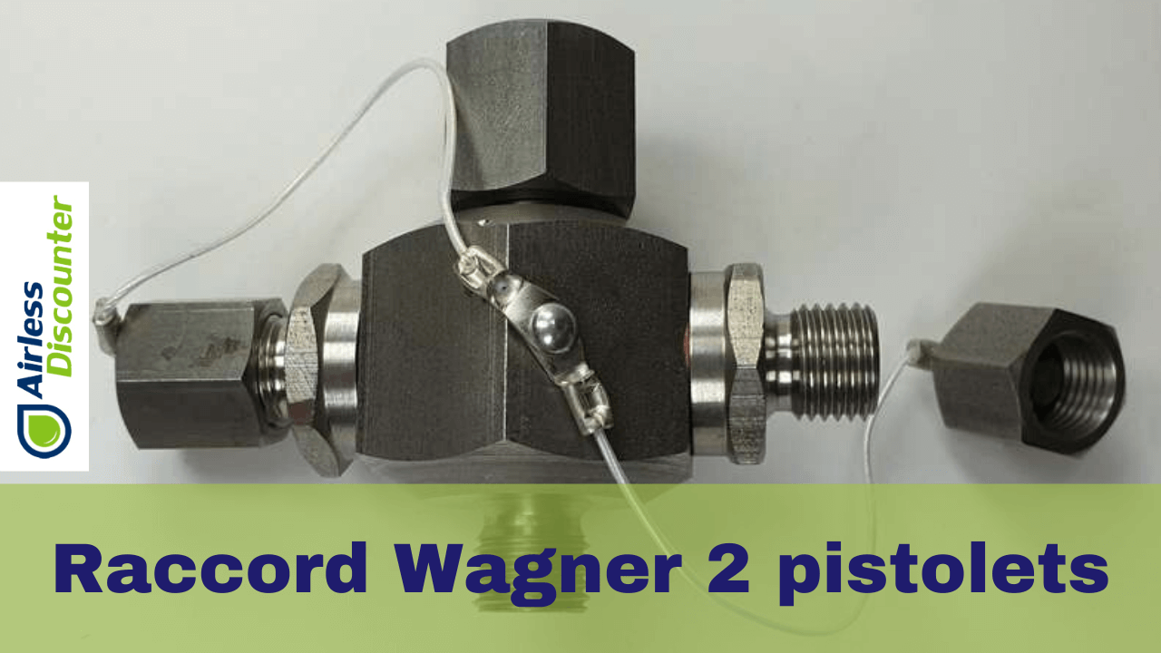 Raccord Wagner 2 pistolets