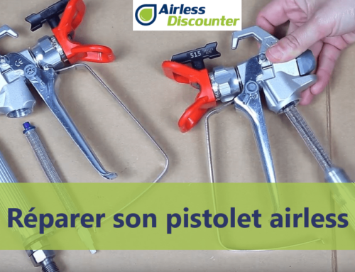 Réparer son pistolet airless – Trucs Airless #34