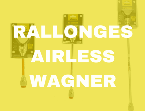 Toutes les rallonges airless Wagner