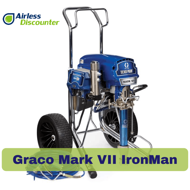 Pompe airless Graco MARK VII MAX HD IRONMAN - 17H895
