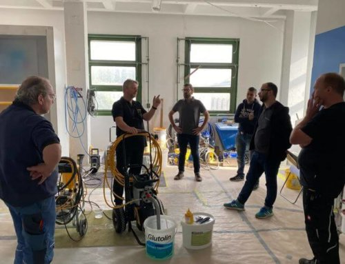 Formation Wagner pour les employés Airless Discounter