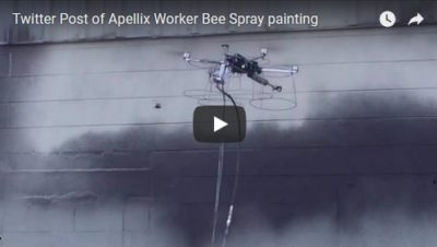 Apellix WorkerBee - Painting Drone