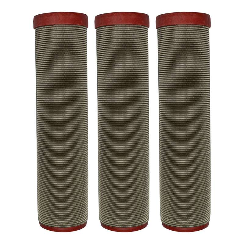 3 x main filters suitable for paint sprayers Wiwa & Binks - red #150