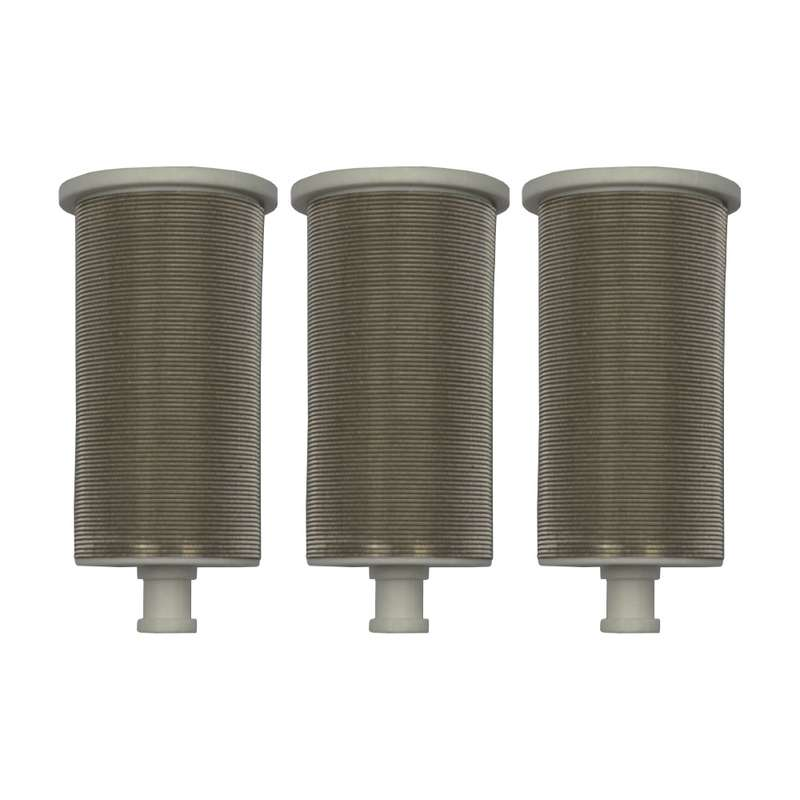 3 x main filters suitable for paint sprayers Wiwa & Binks - white #200