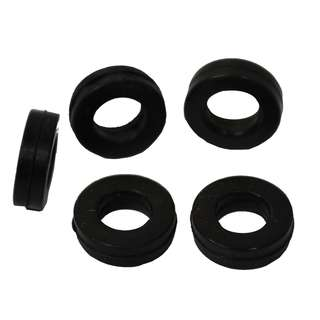 5 Gaskets for Tip and Holder - Black