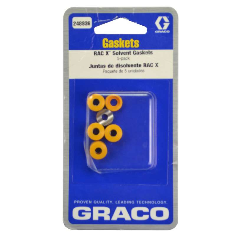 Graco Gaskets for RAC X Airless Spray Tip (Orange) - 248936