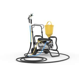 Wagner SuperFinish 23 - AirCoat Paint Sprayer on Cart No....