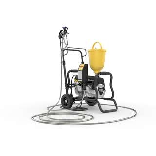 Wagner SuperFinish 23 - Airless paint sprayer on cart -...