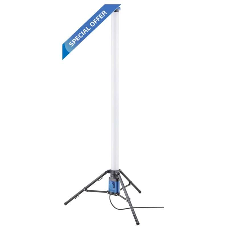 Storch LED Tower 72W, 1,80m, 360° Ausleuchtung