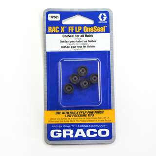 Graco RAC X FF LP Tip Seals (for water-based materials)