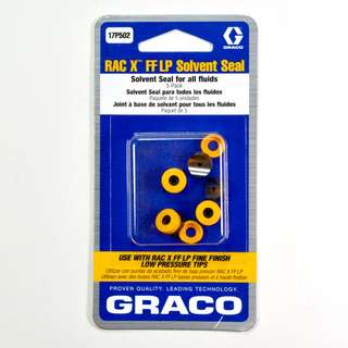 Graco RAC X FF LP Seals (solvent-based) - 17P502