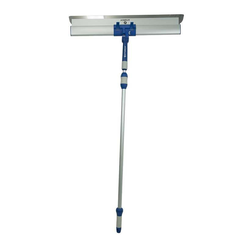 Storch Flexogrip AluStar surface spatula 80cm with telescopic extension 124cm - 220cm