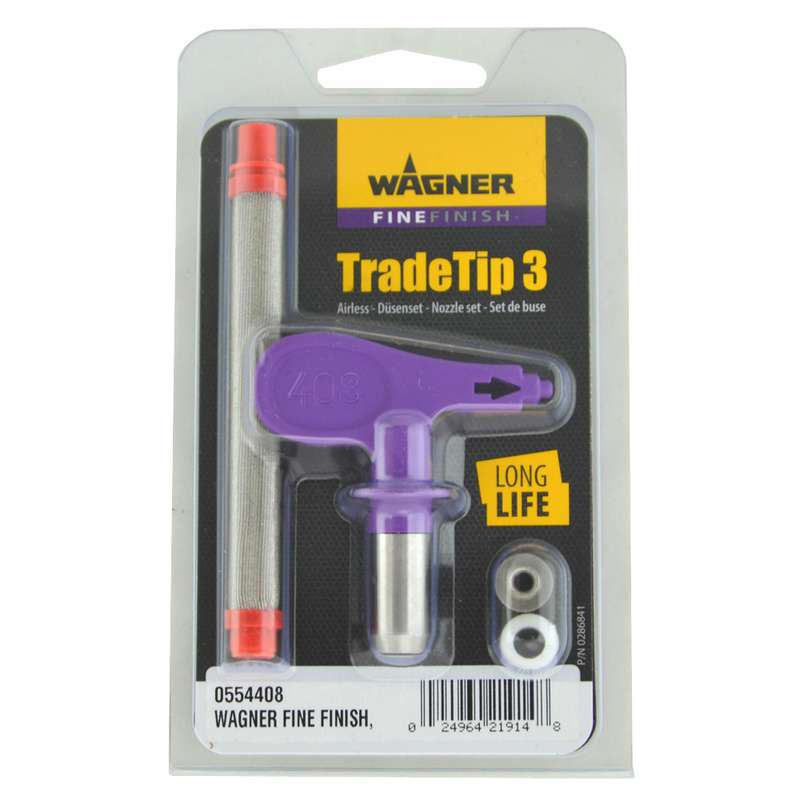Wagner TradeTip 3 FineFinish - Spray Tip for Airless guns - different sizes