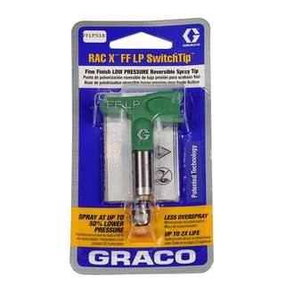 Graco RAC X FF LP Spray Tip - FineFinish Low Pressure Nozzle