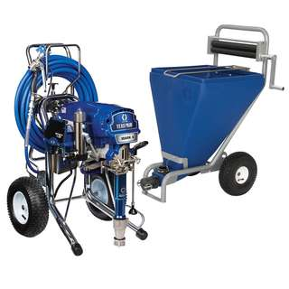 Graco Mark X MAX PROCONTRACTOR with Hopper and Sackpress...