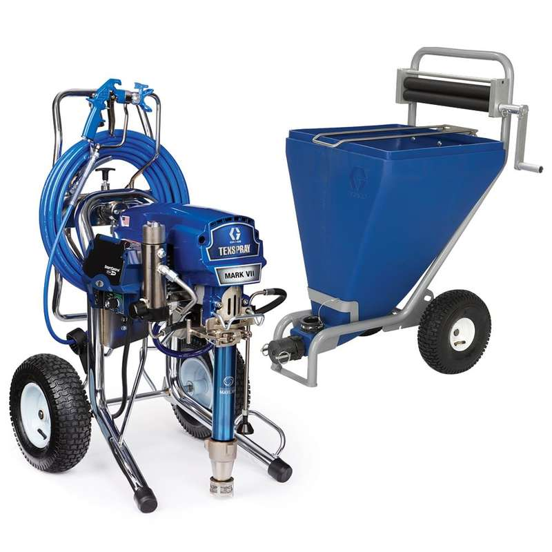 Graco Mark Vii Max Procontractor With Hopper And Sack