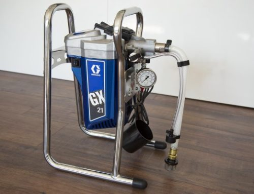 Small airless paint sprayers for starters – dos and don'ts