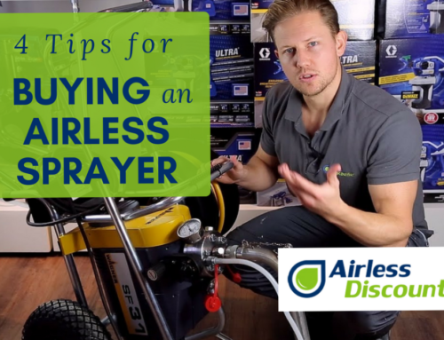 4 Top Tips for Buying an Airless Sprayer with Airless Discounter