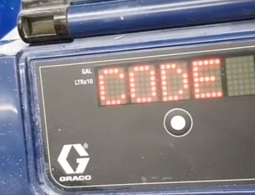 Graco Airless Sprayer Error Code 16 Malfunction – What to do? (with Video)