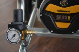 Wagner SF 23 Plus Aircoat with compressed air regulator