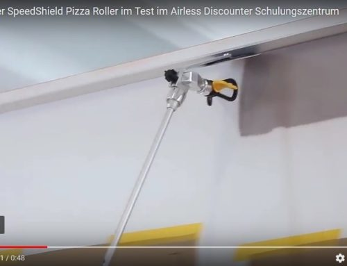 "Testing out the Wagner SpeedShield ""pizza wheel"""