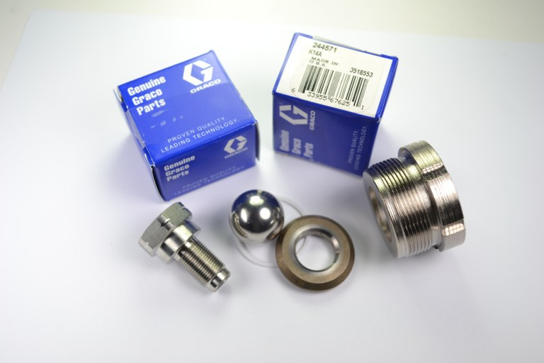 Spare parts for Airless sprayers