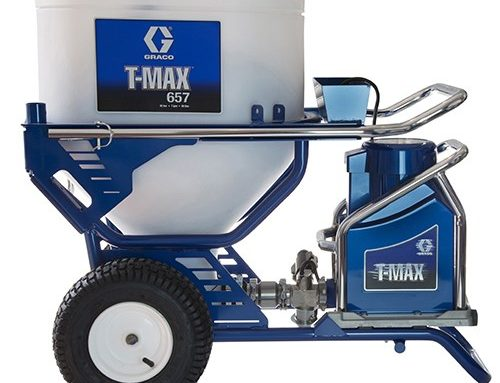 Spray Plaster with the Graco T-Max 506 & Graco T-Max 657 Sprayers