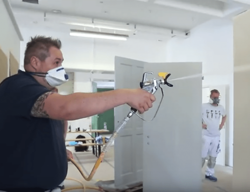 Can you spray plaster with an airless diaphragm pump?