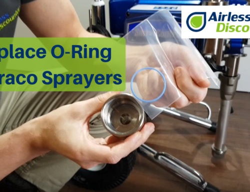 Main Filter Leaking in Graco Sprayer – Replace O-Ring – Airless Q&A #4