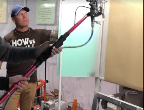 Video: Hyde telescopic airless paint spray extension up to 3.8 m
