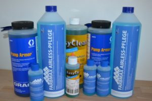 Graco Pump Armor, Wagner EasyClean & FARBMAX Airless Cleaners