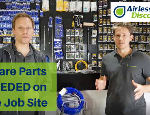 Airless Spare Parts On Hand – What Is Needed on the Job Site? – Airless Q&A #5