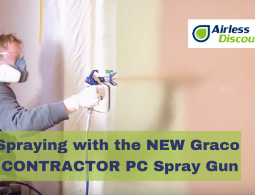 Spraying with the NEW Graco CONTRACTOR PC Spray gun – Airless Q&A #15