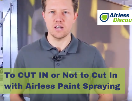 To Cut In or Not to Cut In When Airless Paint Spraying  – Airless Q&A #11