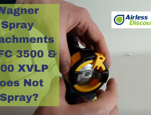 Wagner FC 3500 & 5000 XVLP Does Not Spray? Correct Malfunctions and Defects – Airless Q&A #9