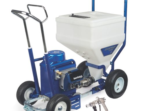 Graco Texspray T-MAX 6912 Overview with Spray Demonstration