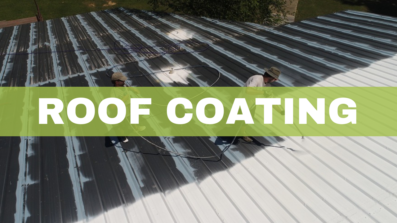 Roof Coating with Airless Paint Sprayer - Airless Discounter