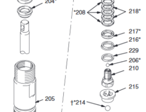 Graco Ultra Max II 795 Standard – Technical drawing & spare parts order list