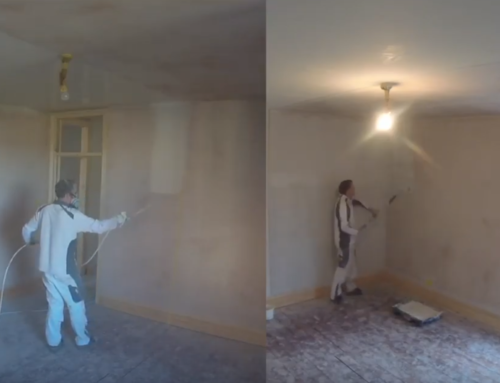 How long does it take to paint a room? Roller versus Airless spraying