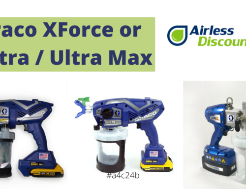 Graco XForce or Ultra Handheld? Airless Battery Operated Comparison