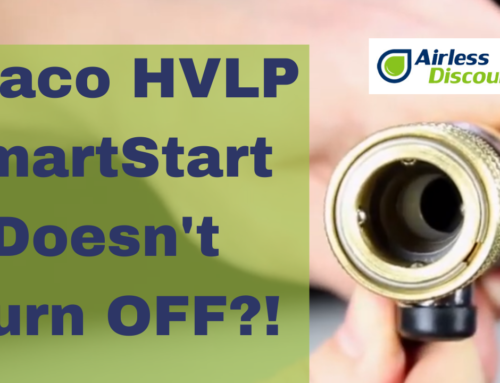 Graco HVLP SmartStart Doesn't Turn Off – Airless Q&A #23