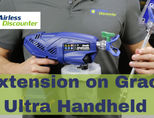 Can I Use an Extension for my Graco Ultra Handheld? – Airless Q&A #24