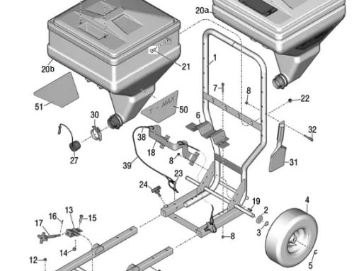 Graco T-Max 6912 – Technical drawing & spare parts order list