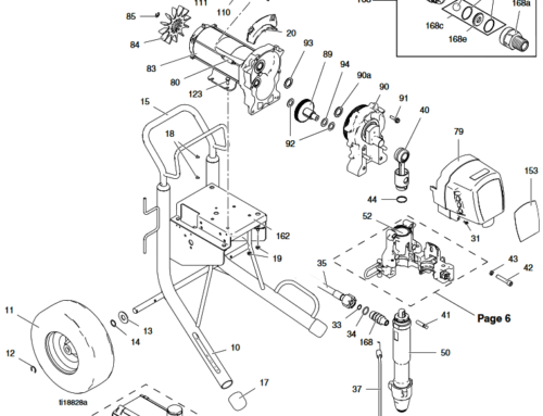 Graco Mark X Premium – Technical drawing & spare parts order list